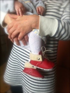 RIE model FIRST BABY SHOES