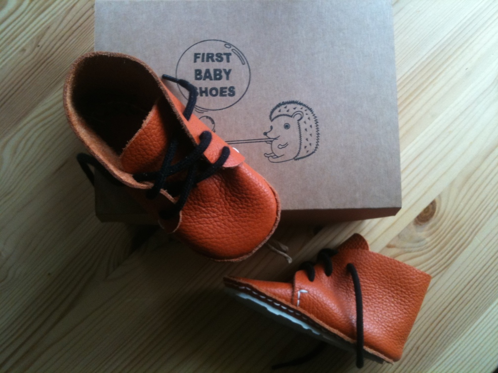 AKI model First Baby Shoes